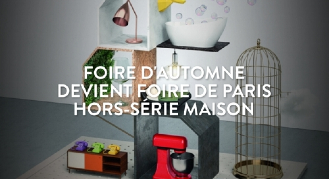 foire de paris hors s rie maison. Black Bedroom Furniture Sets. Home Design Ideas